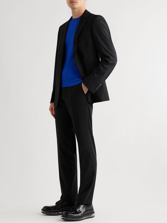 PRADA Tela Slim-Fit Stretch-Virgin Wool Suit