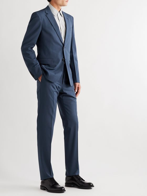 Prada Slim-Fit Stretch Virgin Wool Suit