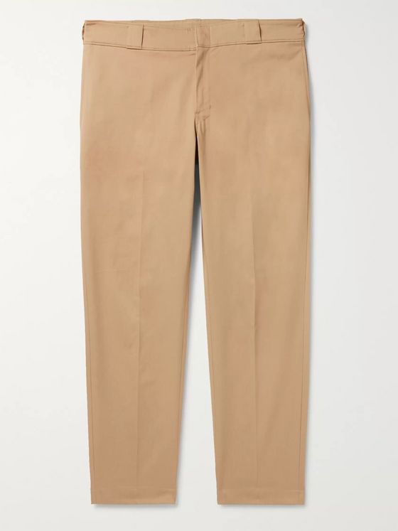 Prada Cotton-Blend Gabardine Chinos