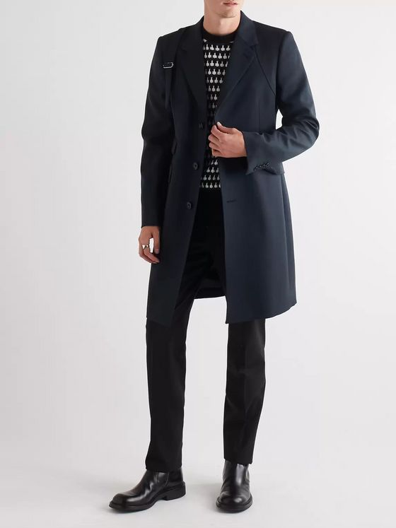 Alexander McQueen Slim-Fit Wool Coat