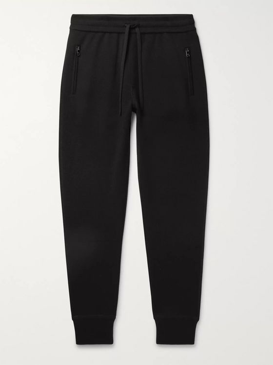 Dolce & Gabbana Slim-Fit Cashmere Track Pants