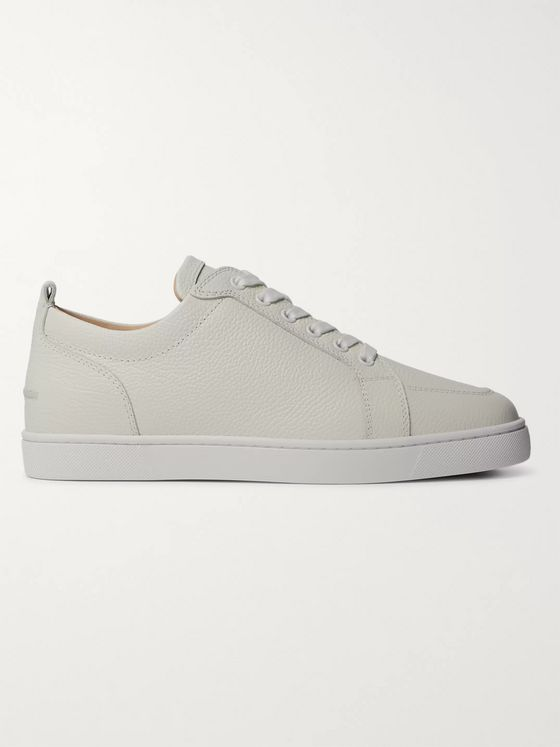 Christian Louboutin Rantulow Full-Grain Leather Sneakers
