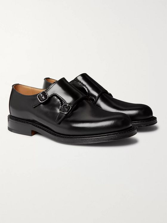 Church's Lambourn Leather Monk-Strap Shoes