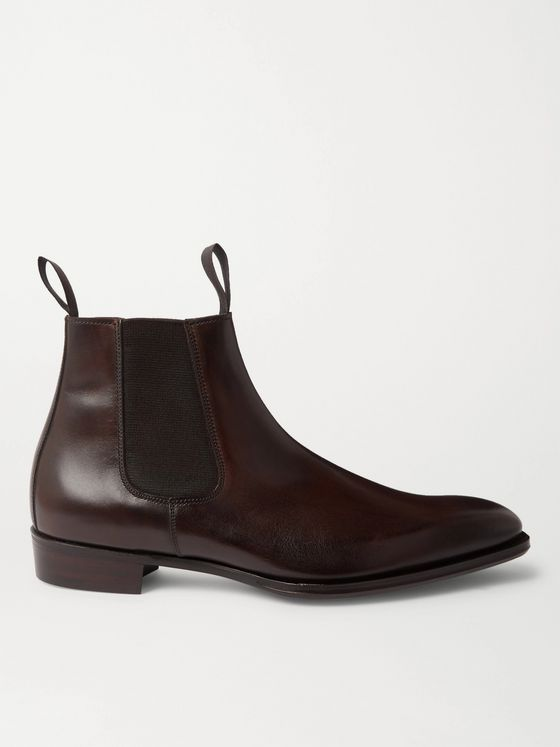 George Cleverley Robert Leather Chelsea Boots