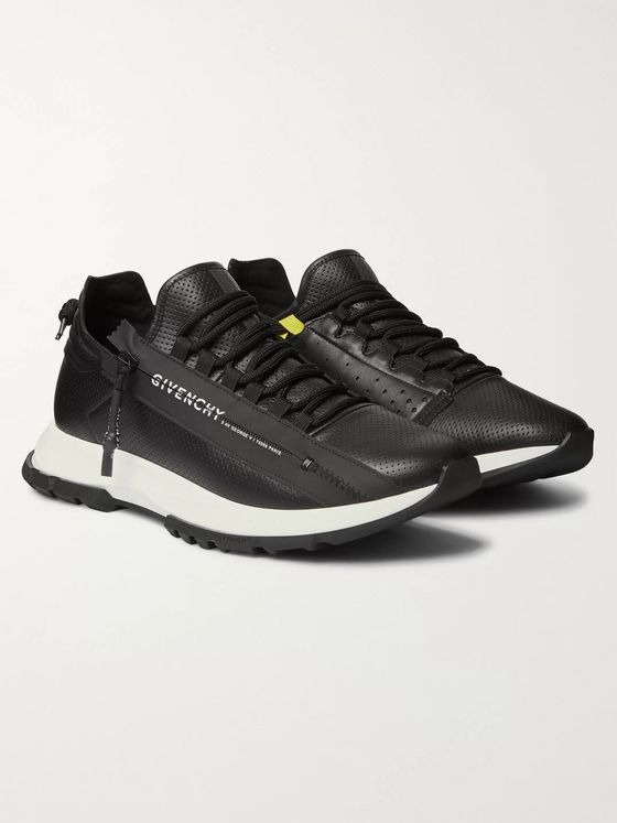 Givenchy Spectre Perforated Leather Sneakers