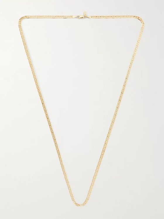 MARIA BLACK Carlo Gold-Plated Chain Necklace