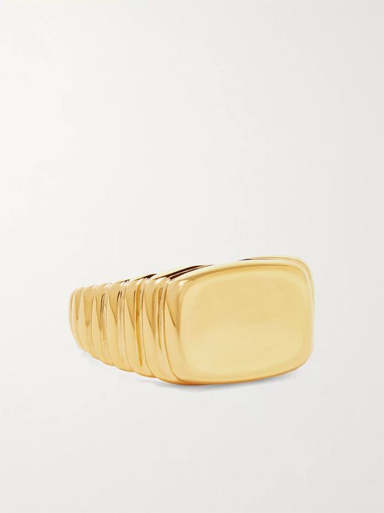 Maria Black Shore Gold-Plated Ring