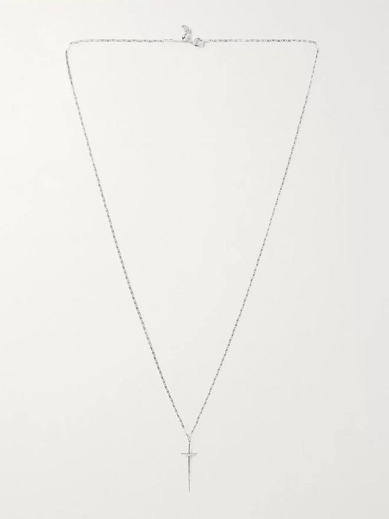 MARIA BLACK George Rhodium-Plated Necklace