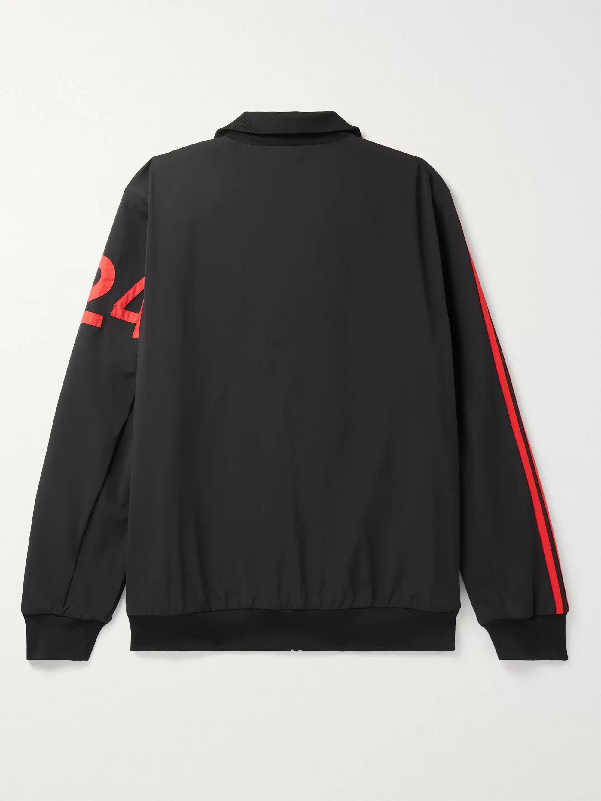 Black + 424 Logo-embroidered Striped Nylon-blend Track Jacket | Adidas Consortium