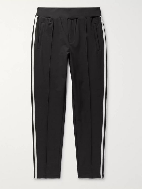 adidas Consortium SPEZIAL Pleckgate Tapered Striped Shell Track Pants