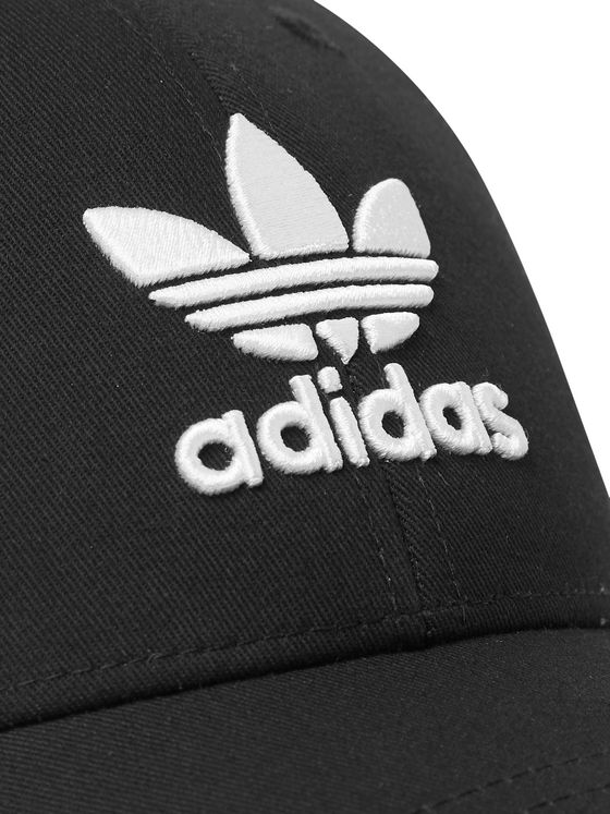 adidas Originals Logo-Embroidered Cotton-Twill Baseball Cap