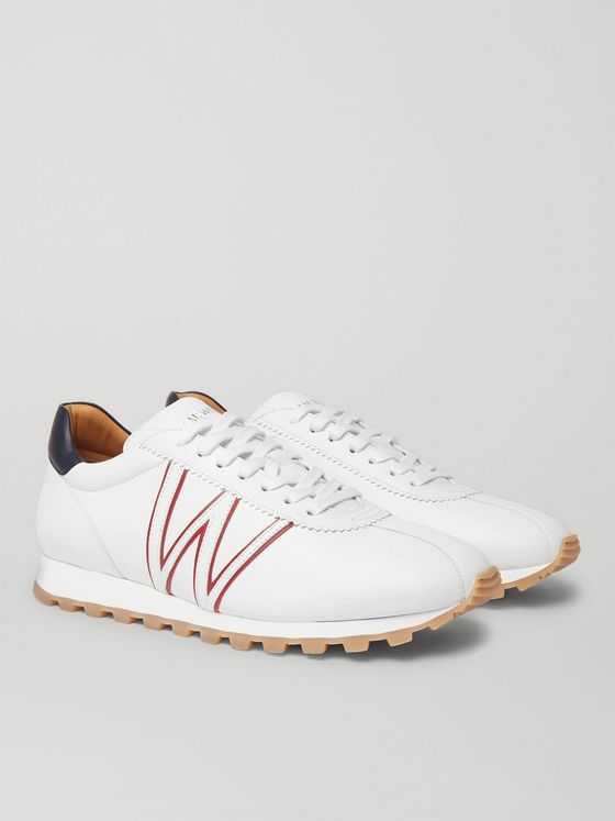 J.M. Weston On My Way Leather Sneakers