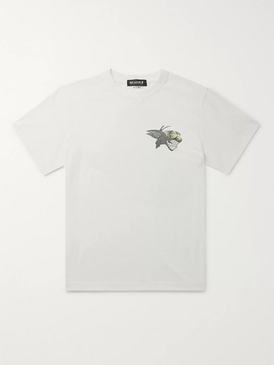 Beams + Nil Ultra Printed Cotton-Jersey T-Shirt
