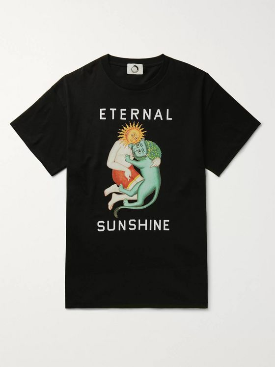 Endless Joy Printed Cotton-Jersey T-Shirt