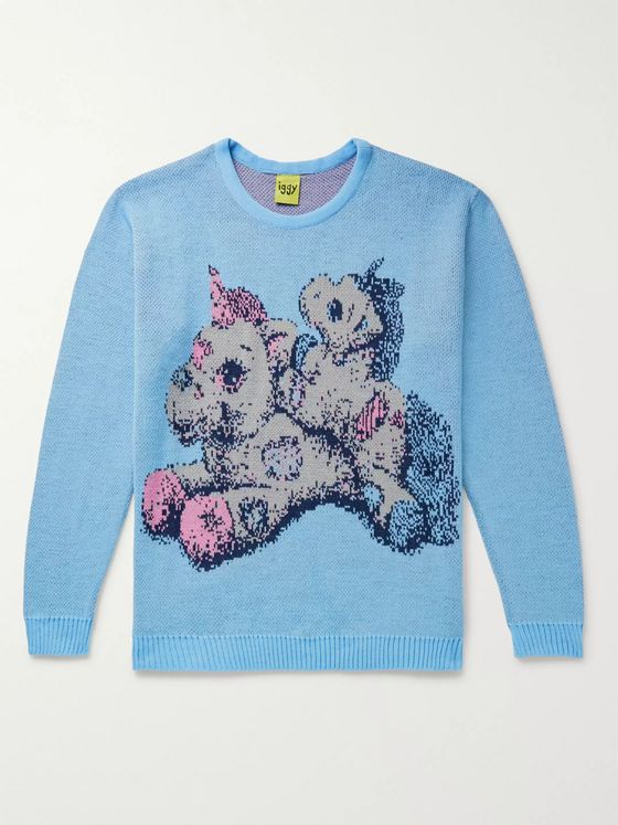 iggy Unicorns Intarsia Knitted Sweater