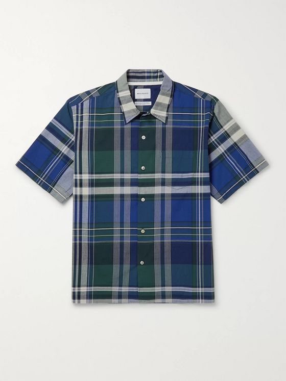 Norse Projects Carsten Checked Cotton Shirt