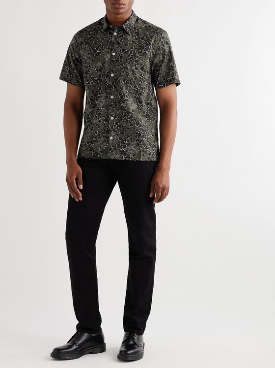 Norse Projects Oscar Printed Cotton Shirt