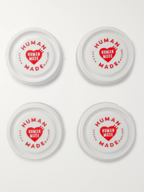 Human Made Set of 4 Acrylic Pill Cases