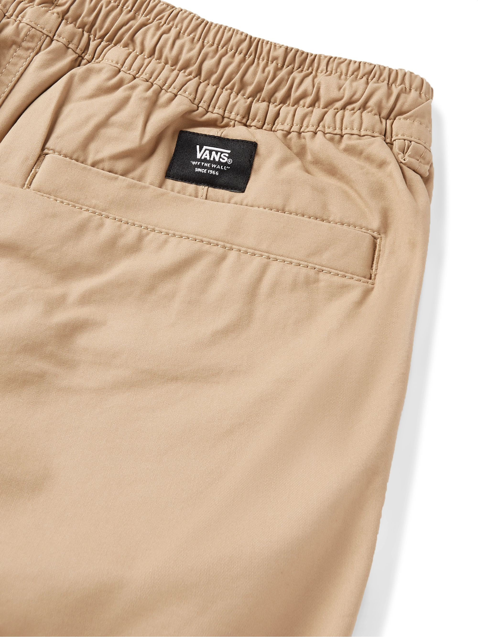Vans Range Cotton-Twill Drawstring Shorts