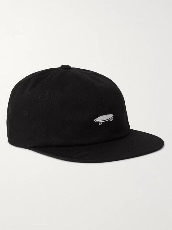Vans Salton II Jockey Logo-Embroidered Cotton-Twill Baseball Cap