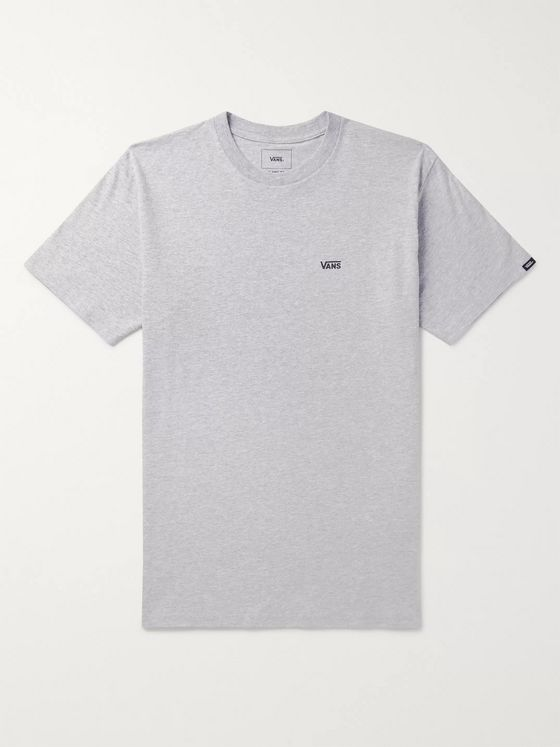 Vans Logo-Print Cotton-Blend Jersey T-Shirt