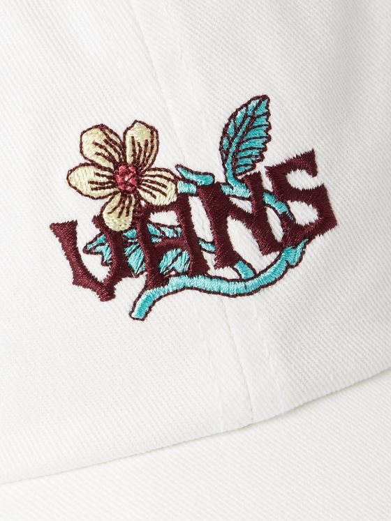 Vans Walash Logo-Embroidered Cotton-Twill Baseball Cap
