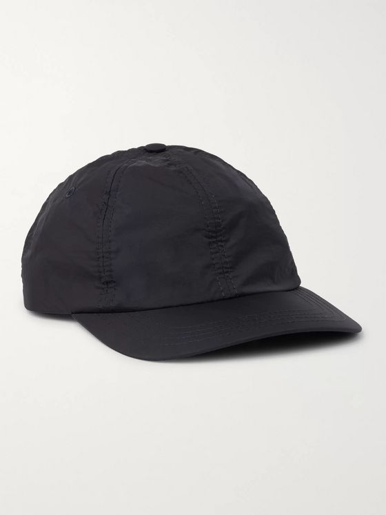 Folk Logo-Detailed Nylon Baseball Cap