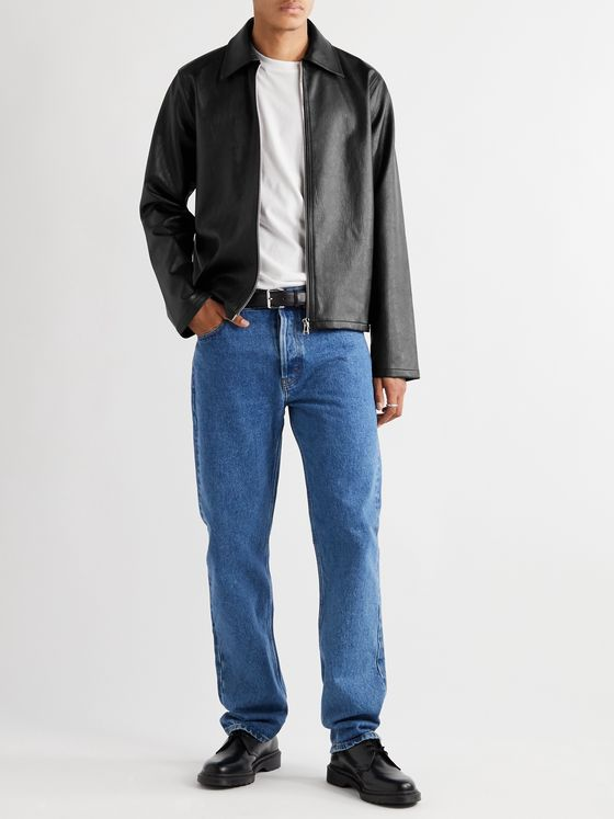 SÉFR Truth Faux Leather Jacket