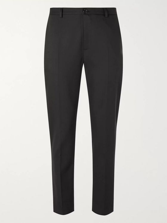SÉFR Harvey Slim-Fit Tapered Cotton-Blend Trousers