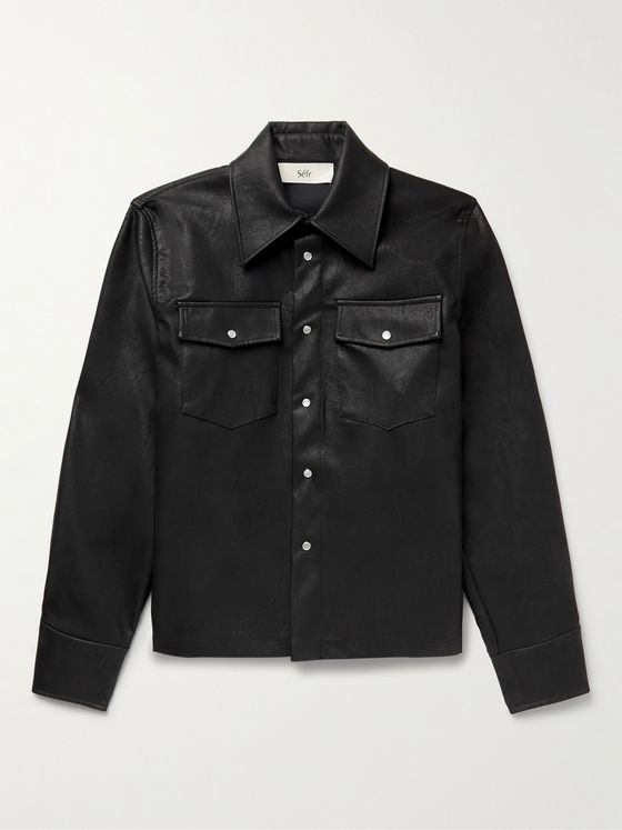 SÉFR Matsy Cotton-Moleskin Shirt Jacket