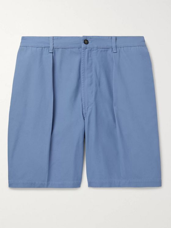 Drake's Slim-Fit Cotton-Canvas Chino Shorts