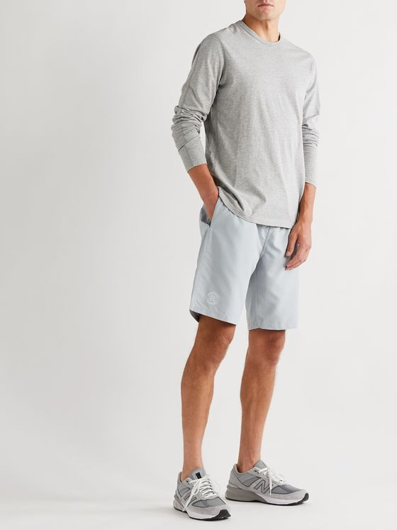 Reigning Champ Long-Length Shell Swim Shorts