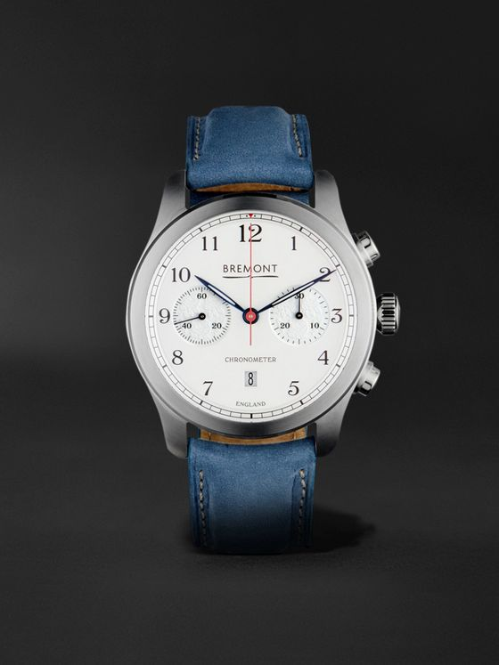 Bremont ALT1-C Rose Automatic Chronograph 43mm Stainless Steel and Nubuck Watch, Ref. No. ALT1-C/ROSE