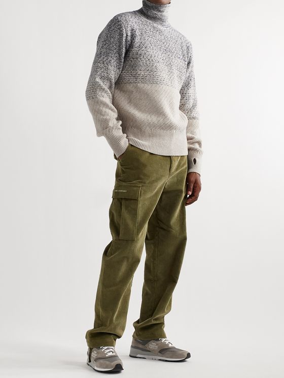 Oliver Spencer Talbot Mélange Wool Rollneck Sweater
