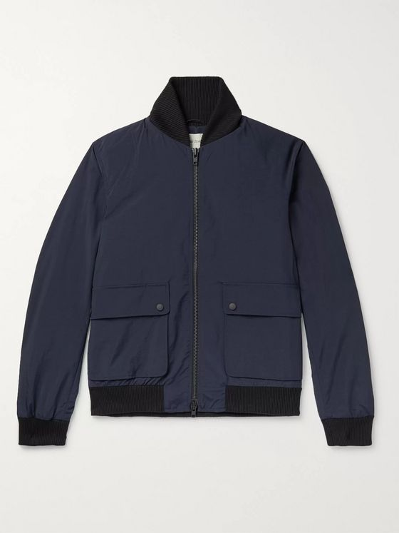 OLIVER SPENCER Bermondsey Shell Bomber Jacket