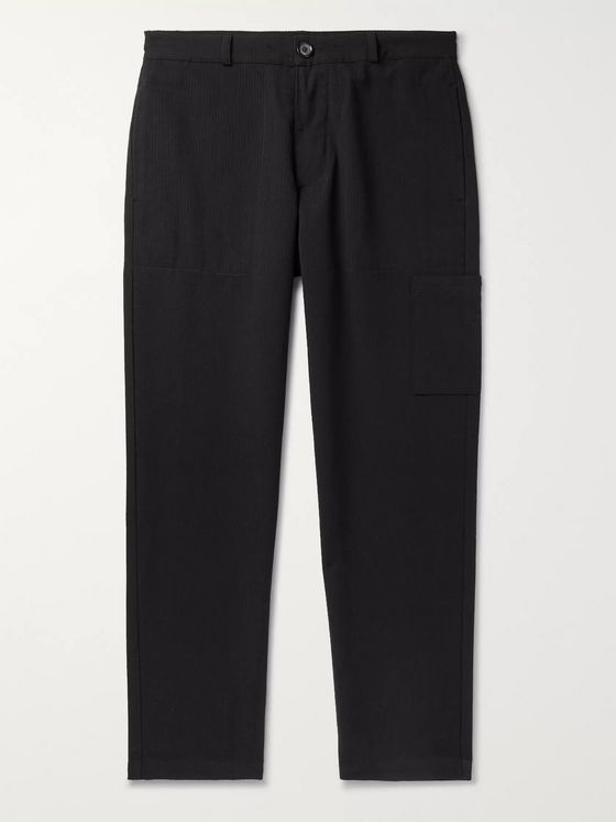 Oliver Spencer Judo Tapered Organic Cotton-Twill Trousers