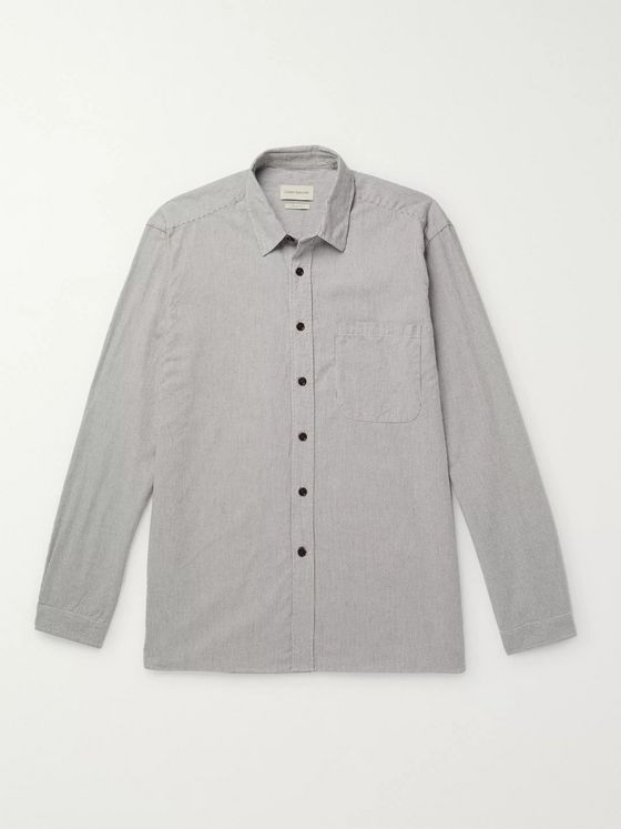 OLIVER SPENCER Ellington Striped Cotton Shirt
