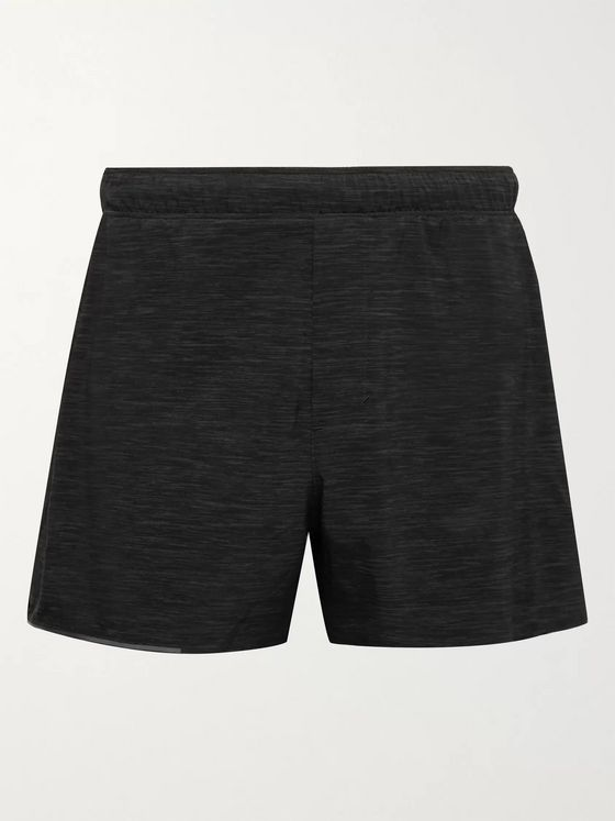 LULULEMON Surge Mélange Recycled Swift Shorts
