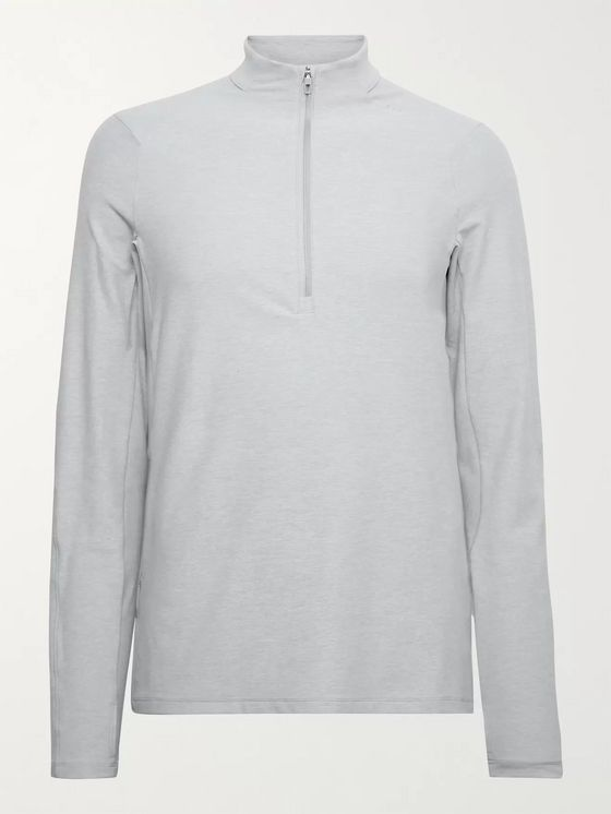 LULULEMON Surge Warm Rulu Slim-Fit Half-Zip Top