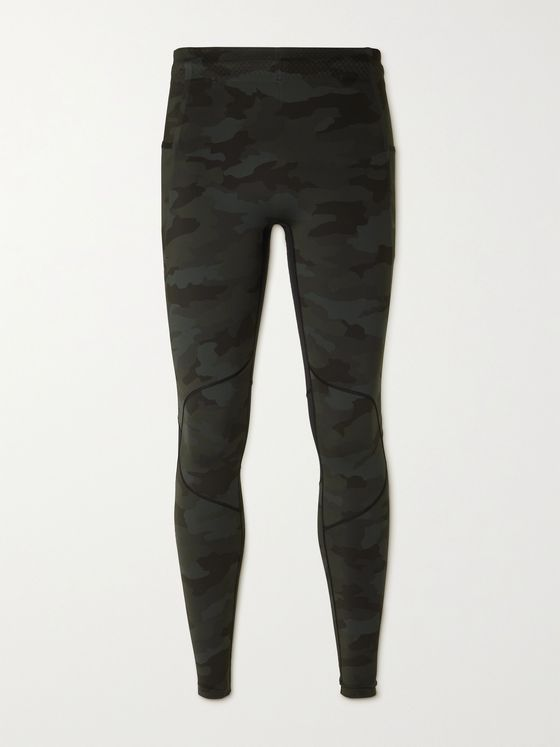 Lululemon Surge 28 Camouflage-Print Stretch-Jersey Tights