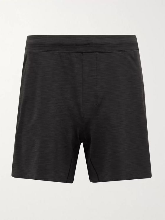 LULULEMON In Sequence Mélange Stretch-Shell Shorts