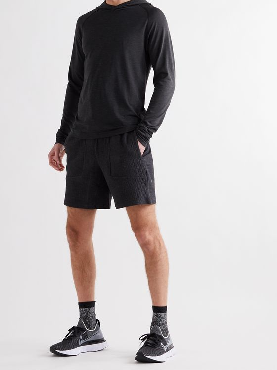 Lululemon Metal Vent Tech 2.0 Mélange Stretch-Jersey Hoodie