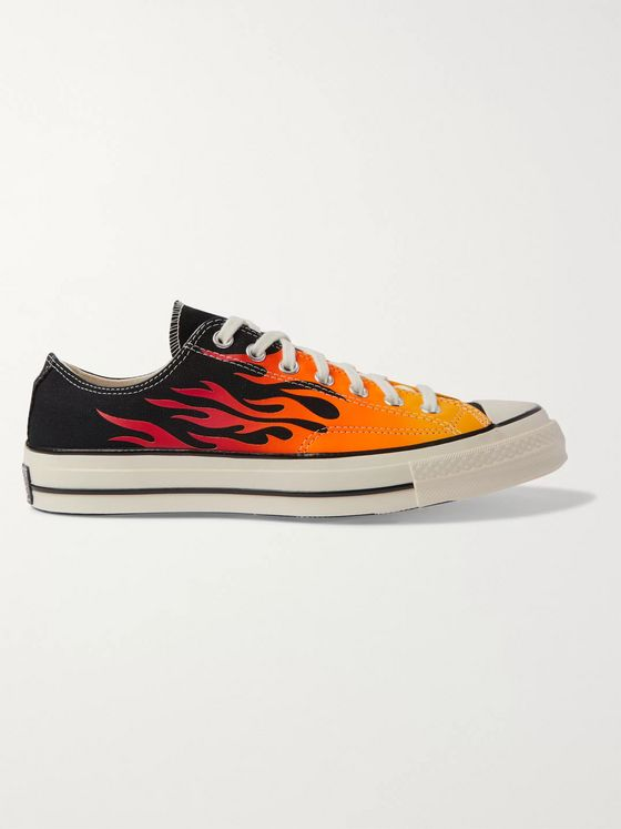 Converse Chuck 70 OX Printed Canvas Sneakers