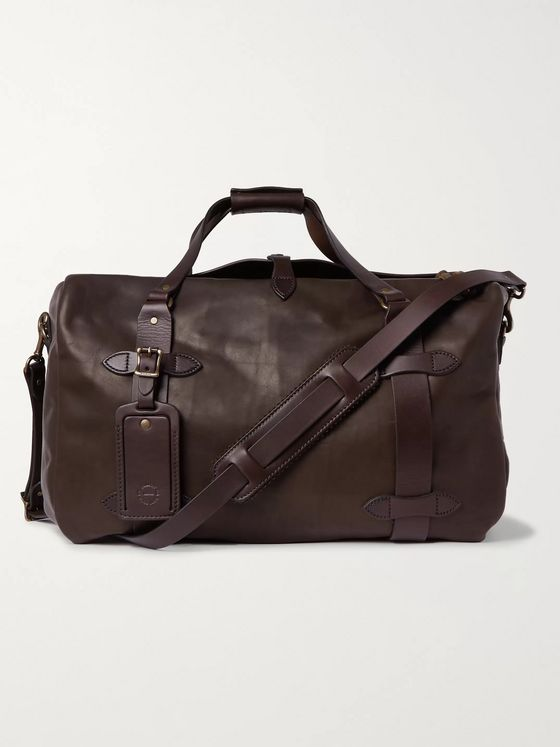 Filson Leather Duffle Bag