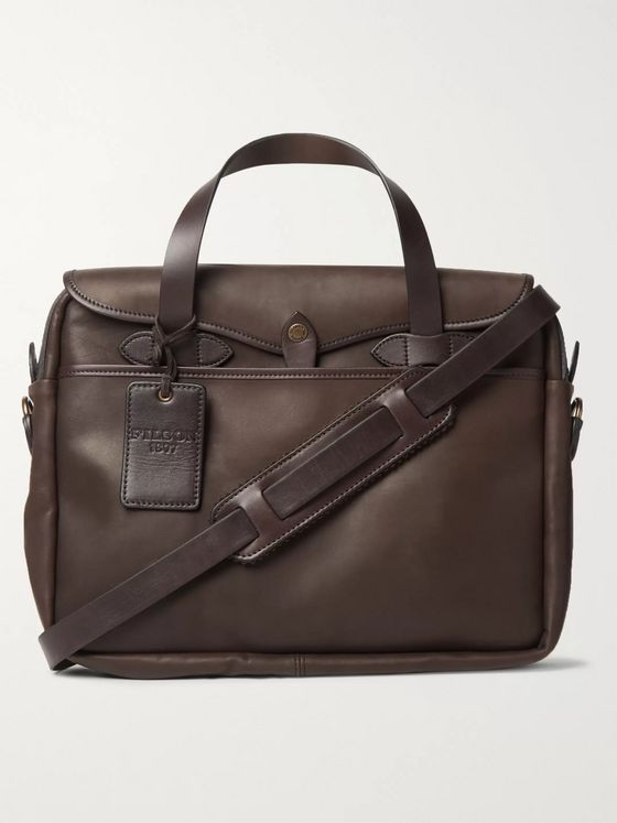 Filson Original Weatherproof Leather Briefcase