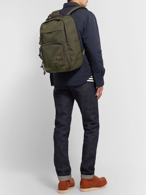 Filson Dryden Leather-Trimmed CORDURA Backpack