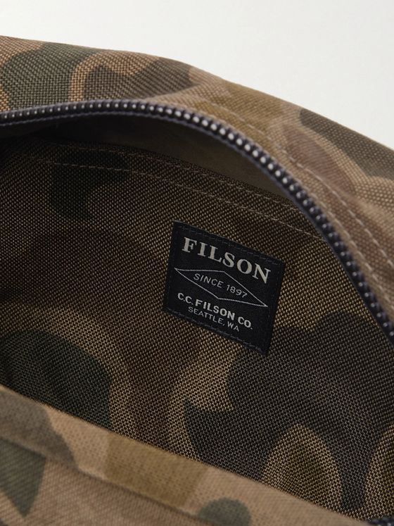 Filson Limited Edition Camouflage-Print CORDURA Nylon Wash Bag