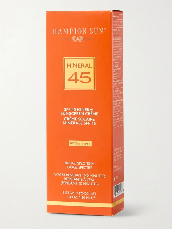 Hampton Sun SPF45 Mineral Crème Sunscreen for Body, 130ml