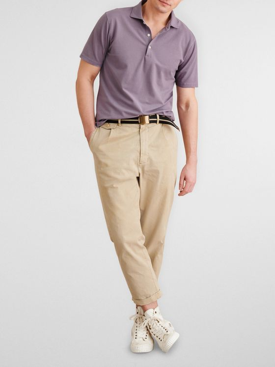 Alex Mill Cotton-Piqué Polo Shirt