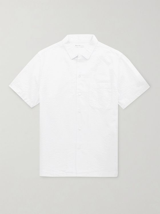 Alex Mill Cotton-Seersucker Shirt